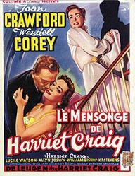 Anonym - Le Mensonge de Harriet Craig