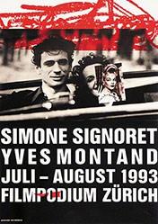 Brühwiler Paul - Simone Signoret / Yves Montand - Filmpodium