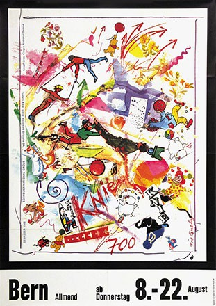 Tinguely Jean - Circus Knie