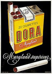 Briel Atelier - Dora Maryland Cigarettes