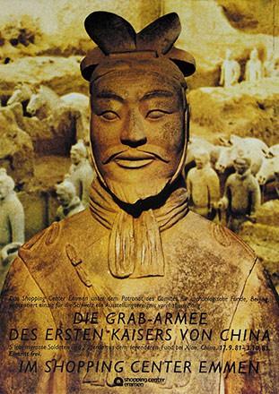 W & P Werbeagentur - Die Grab-Armee des ersten Kaisers von China