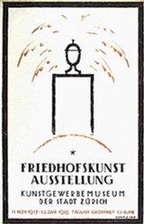 Kienzle Wilhelm - Friedhofskunst Ausstellung