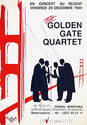 Publi Graphy - The Golden Gate Quartett