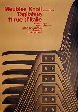 Calame Georges / Dupraz Claude - Meubles Knoll International