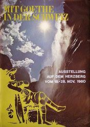 Anonym - Mit Goethe in der Schweiz