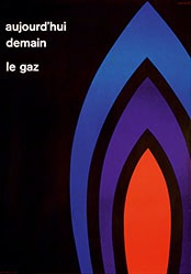 Calame Georges - aujourd'hui, demain, le gaz