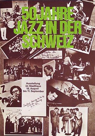 Anonym - 50 Jahre Jazz in der Schweiz