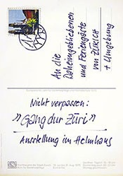 Ernst und Tellenbach - Gang dur Züri