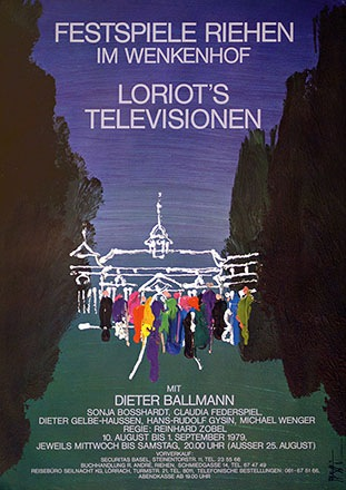 Piatti Celestino - Loriot's Televisionen