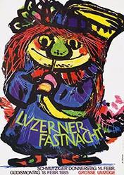 Blättler Hans - Luzerner Fasnacht