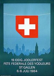 Kaeser Jules Alex - 19. Eidg. Jodlerfest St. Gallen