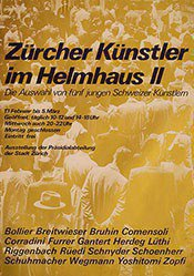 Anonym - Zürcher Künstler im Helmhaus II