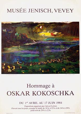 Anonym - Hommage à Oskar Kokoschka