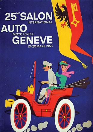 Hauri Edi - 25me Salon Auto Genève