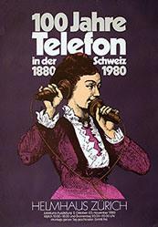 Anonym - 100 Jahre Telefon in der Schweiz