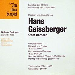 Anonym - Hans Geissberger Ober-Dornach