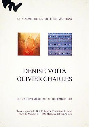Anonym - Denise Voïta / Olivier Charles