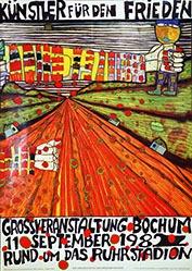 Hundertwasser Friedensreich - Künstler für den Frieden