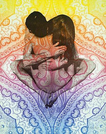 Paul Kagan (Photo) - Psychedelic poster