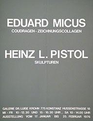 Anonym - Eduard Micus / Heinz L. Pistol
