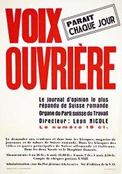 Graisier François - Voix ouvrière