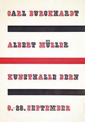 Flückiger Adolf - Carl Burckhardt / Albert Müller