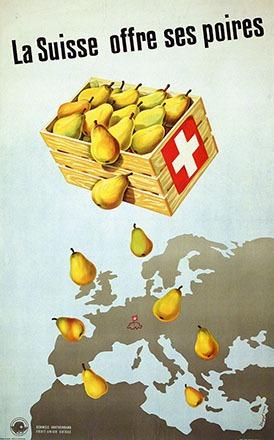 Krapf Karl O. - La Suisse offre ses poires