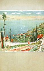 Carigiet Alois - Le Léman