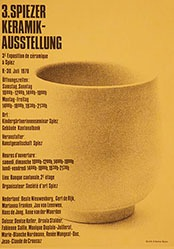 Gafner A. - 3. Spiezer Keramik-Ausstellung