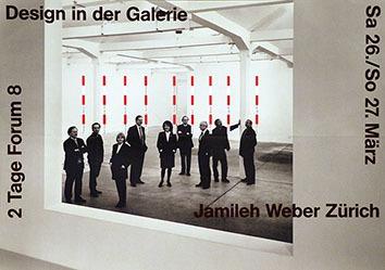 Anonym - Design in der Galerie