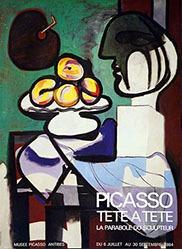 Anonym - Picasso tête à tête