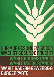 Anonym - Bauern-, Gewerbe-, Bürgerpartei