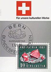 Hotz Emil - Bundesfeiermarken