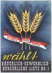 Strässle Fred - Bauern-, Gewerbe-, Bürgerpartei