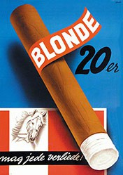 Anonym - Rössli Blonde 20er
