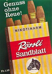 Anonym - Rössli Sandblatt
