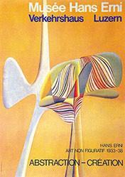 Erni Hans - Hans Erni - Abstraction - Création