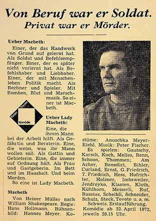 Stuber Guido (GGK Werbeagentur) - Macbeth
