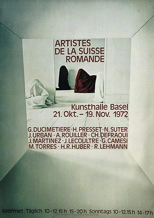 Caduff Silvio - Artistes de la Suisse romande