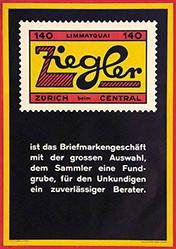 Anonym - Briefmarkengeschäft Ziegler