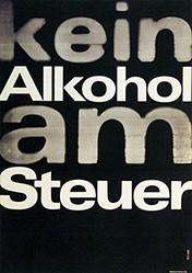 Monogramm Deamrk - Kein Alkohol am Steuer