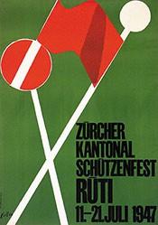 Keller Ernst - Kantonal Schützenfest Rüti