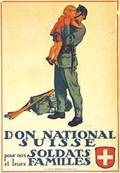 Courvoisier Jules - Don National Suisse - Nationalspende
