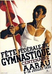 Stucki Egon - Fête fédérale de Gymnastique Aarau