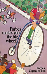 Chwast Seymour - Forbes makes you the big wheel