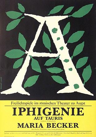 Leupin Herbert - Iphigenie auf Tauris - Maria Becker