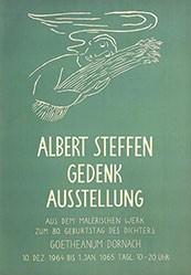 Anonym - Albert Steffen Gedenkausstellung