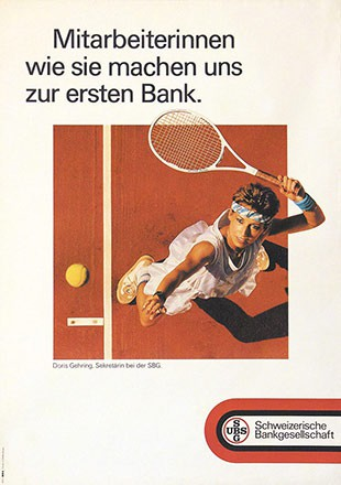 Advico Werbeagentur - Schweizerische Bankgesellschaft