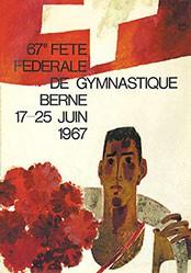 Auchli Herbert - Fête fédérale de Gymnastique Berne
