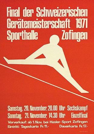 Wüthrich Bruno - Final der Schweizerischen Gerätemeisterschaft
